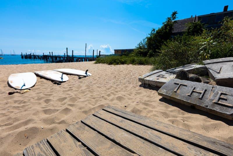 Praia de Provincetown, Massachusetts fotografia de stock