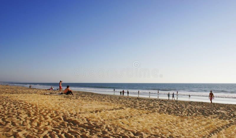 Praia de Sandy imagens de stock royalty free