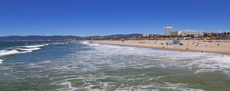 Praia de Santa Monica fotografia de stock royalty free