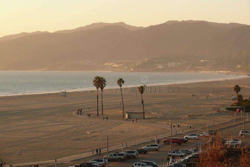 Praia De Santa Monica Fotos de Stock
