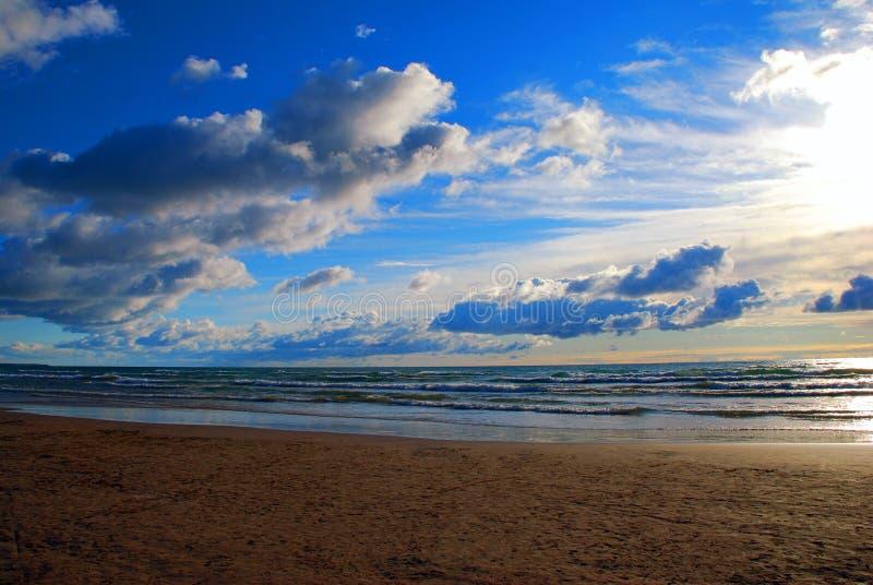 Praia de Sauble imagem de stock royalty free