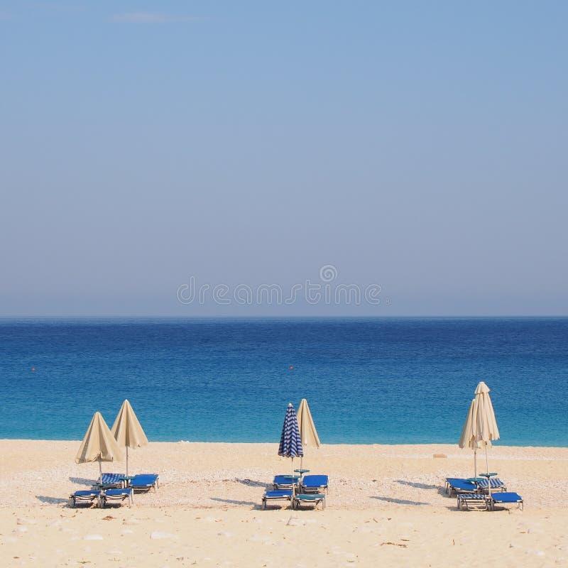 Praia de Skala, Kefalonia fotos de stock