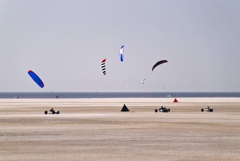 Praia de St. Peter-Ording foto de stock royalty free