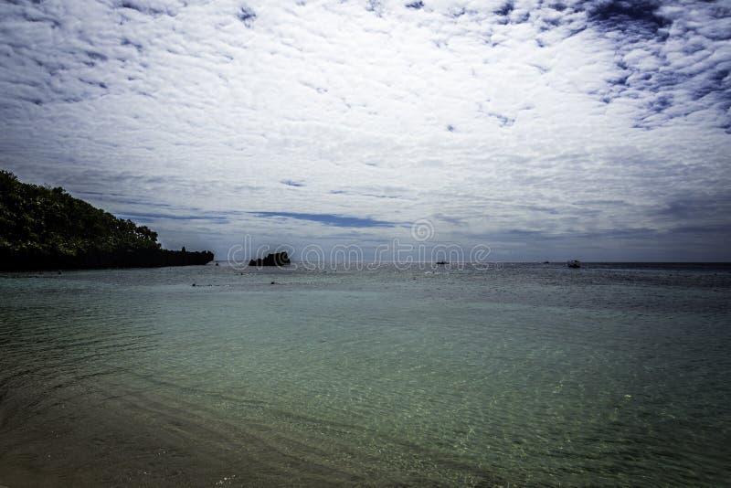 Praia de Tabyana imagem de stock