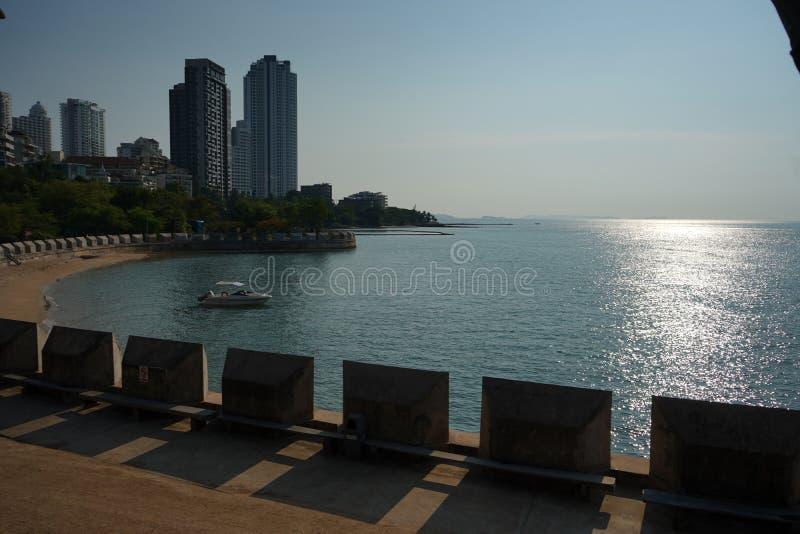 Praia de Tailândia Pattaya fotografia de stock royalty free