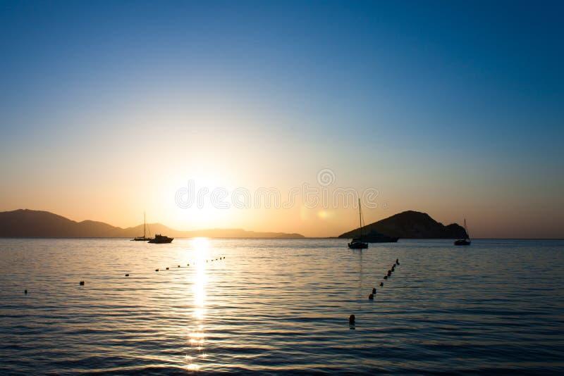 Praia de Turltle, Zakynthos imagem de stock