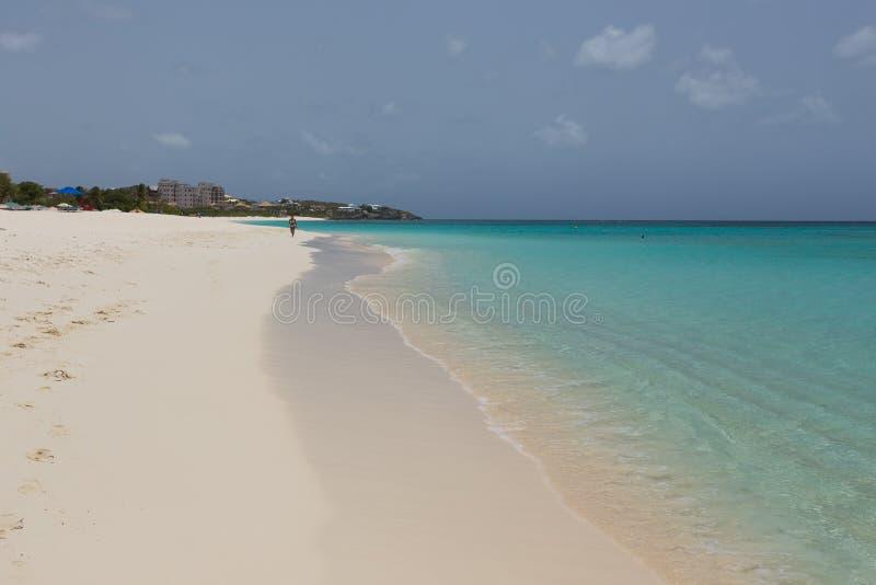 Praia de turquesa imagens de stock