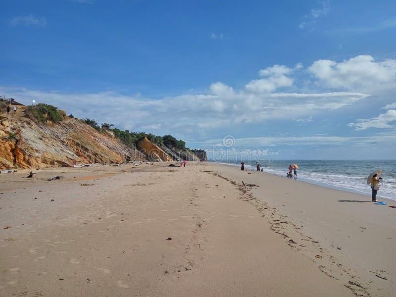 Praia de Tusan imagens de stock