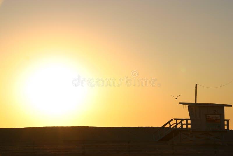Praia de Veneza fotografia de stock