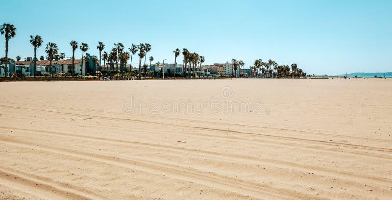 Praia de Veneza em Los Angeles foto de stock