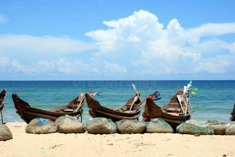 Praia de Vietnam imagens de stock