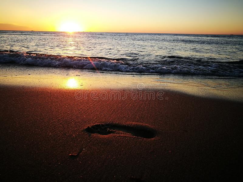 2 Praia de Warnemuende fotos de stock