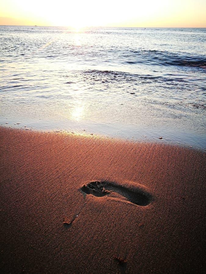 Praia de Warnemuende imagem de stock royalty free