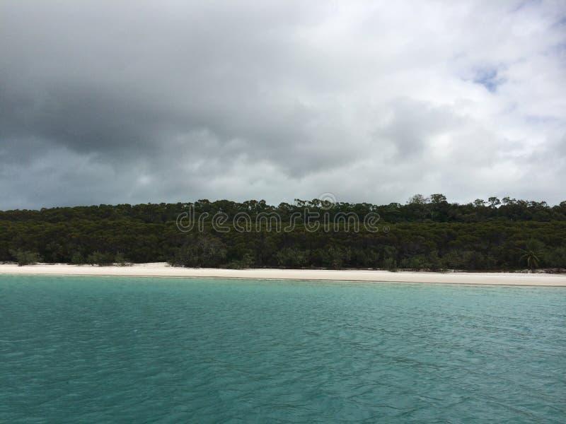 Praia de Whiteheawen foto de stock
