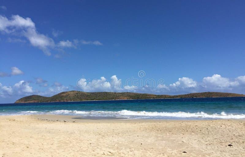 Praia de Zoni, Culebra, Porto Rico fotos de stock royalty free