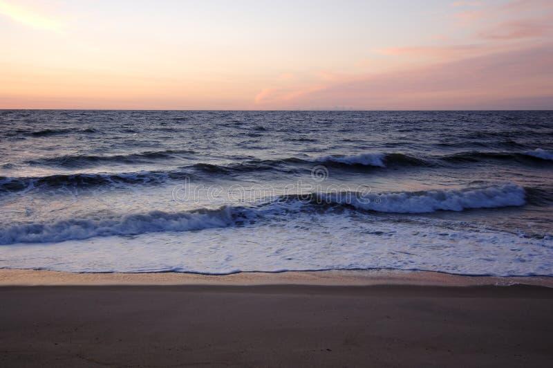 Praia Delaware de Bethany fotografia de stock