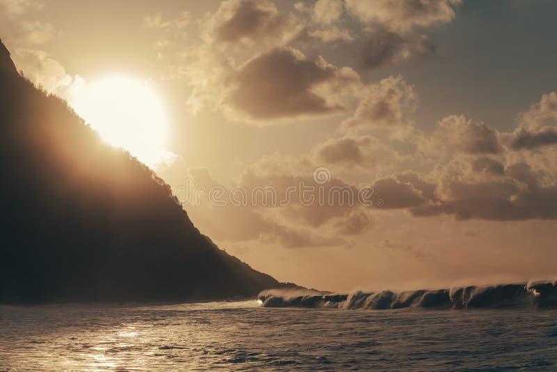 Praia a Dinamarca Conceição, em Fernando de Noronha imagens de stock royalty free