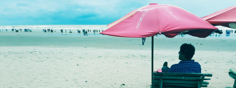 praia do bazar do timoneiro imagens de stock