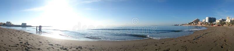 praia do benalmadena imagens de stock royalty free