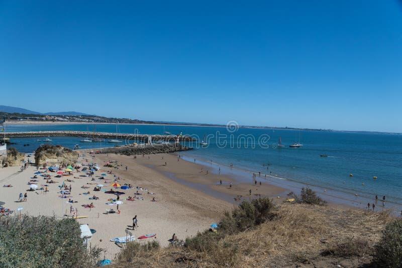 Praia do Camilo στο Λάγκος, Πορτογαλία στοκ εικόνες