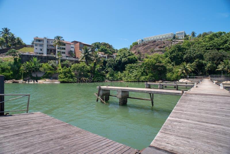 Praia do Canto Vitoria Brazil Hotel Senac Holidays Pier Sol Beach. Hotel Senac Holidays Pier Sol Beach stock photos