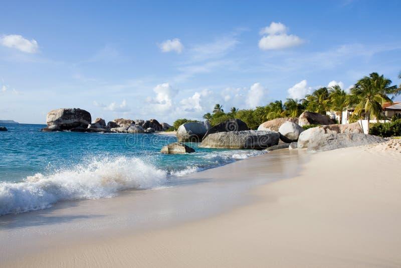 Praia do Cararibe foto de stock royalty free