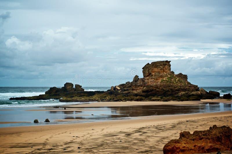 Praia do Castelejo, Πορτογαλία στοκ εικόνες