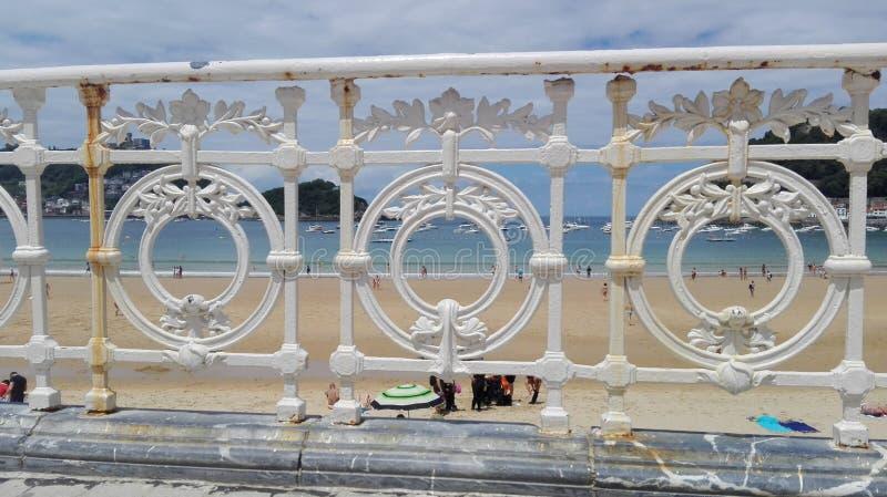 Praia do Concha do La fotos de stock royalty free