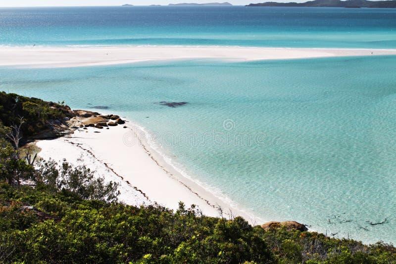 Praia do domingo de Pentecostes foto de stock