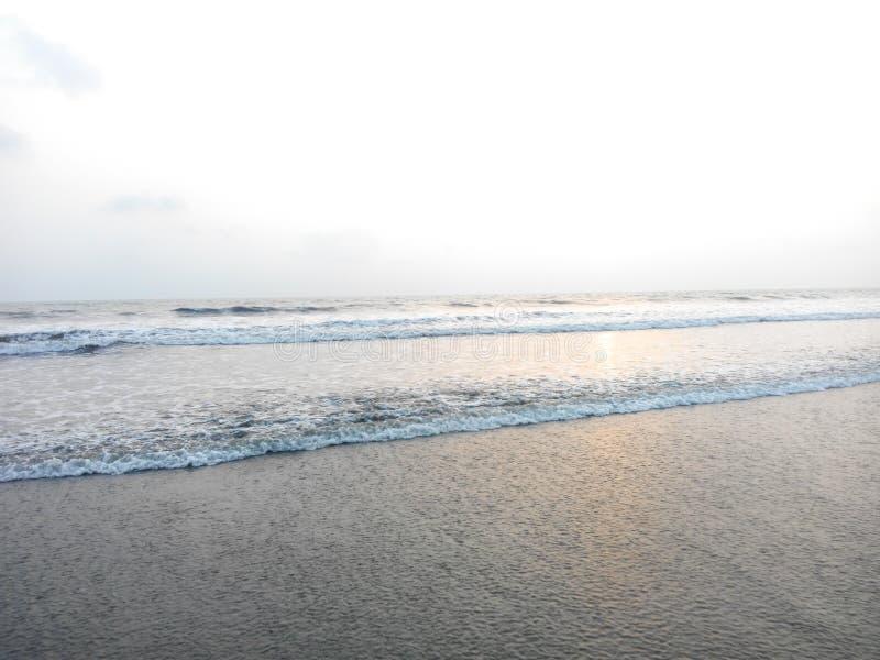 Praia do mar imagens de stock