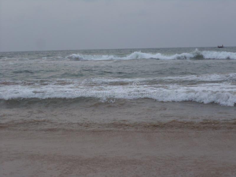 Praia do mar foto de stock