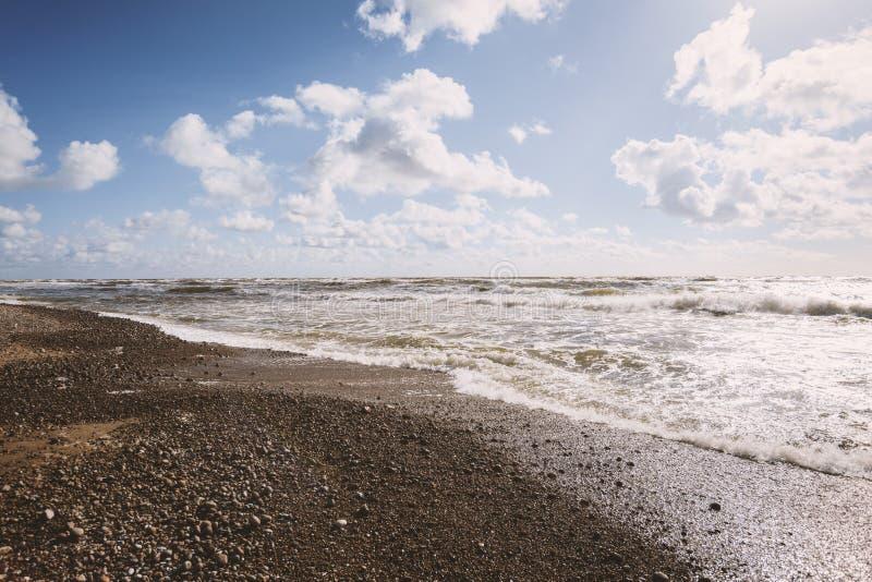 Praia do mar B?ltico imagens de stock royalty free