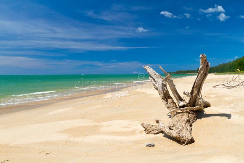 Praia Do Mar De Andaman Em Tailândia Fotografia de Stock Royalty Free