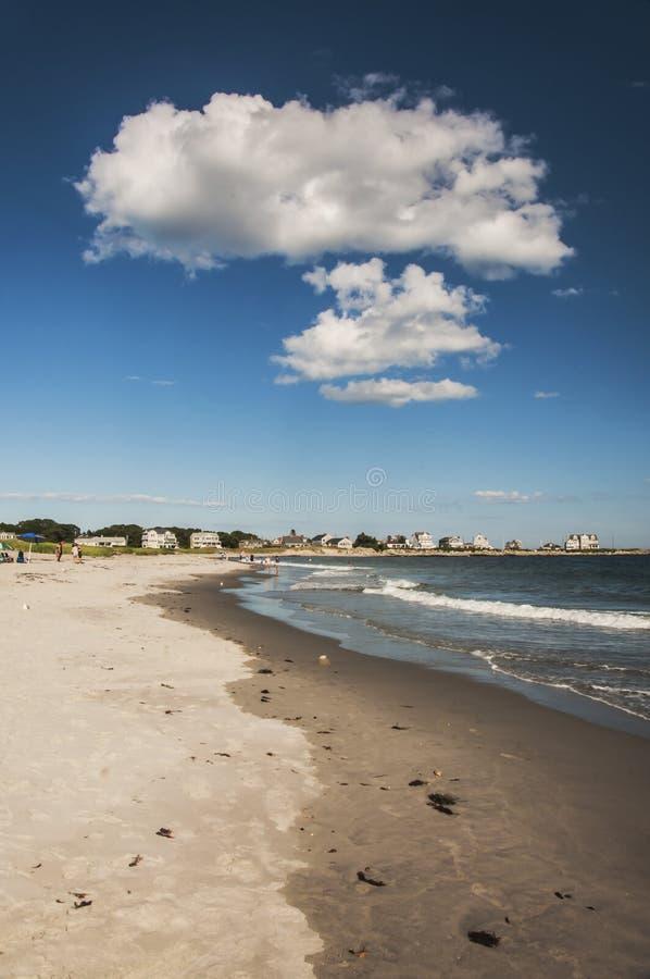 Praia do oceano imagens de stock
