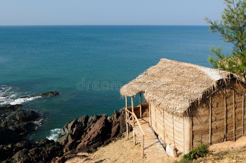 Praia do OM fotos de stock royalty free