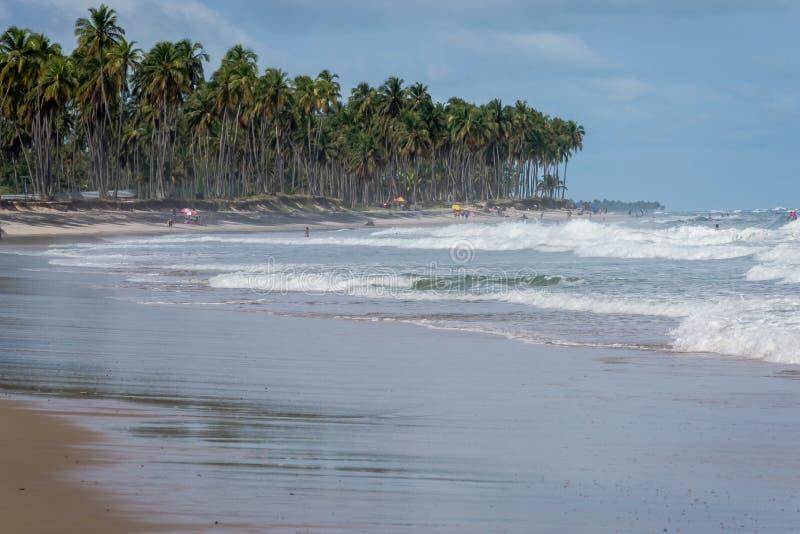 Praia do Paiva, Pernambuco - Brazilië stock foto
