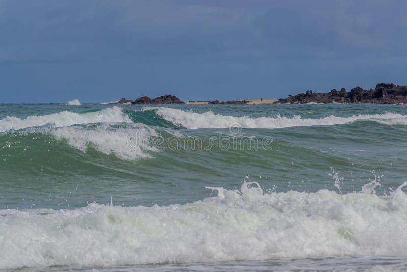 Praia do Paiva, Pernambuco - Brazilië stock fotografie
