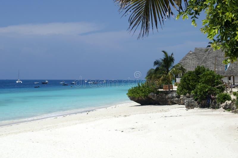 Praia do paraíso fotos de stock royalty free