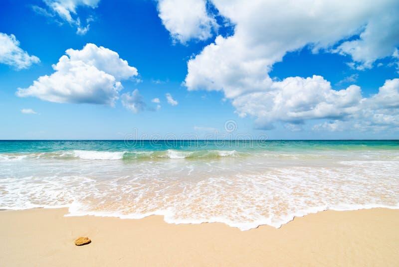 Praia do paraíso fotografia de stock royalty free