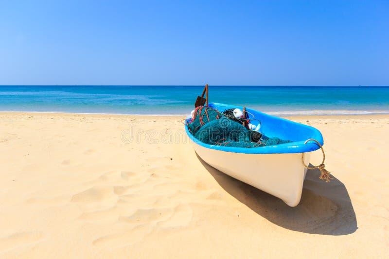 Praia do paraíso dos feriados imagens de stock royalty free