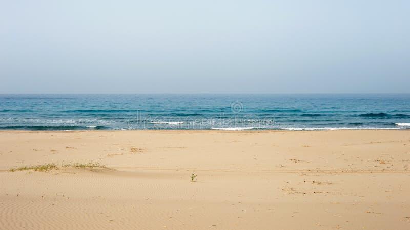 Praia do patara de Antalya imagens de stock