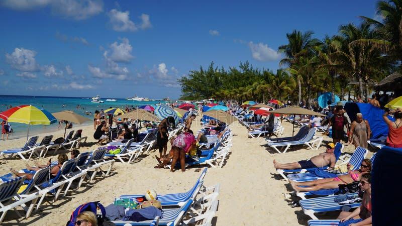 A praia do regulador em Turk Island grande imagem de stock royalty free