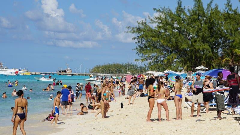A praia do regulador em Turk Island grande fotografia de stock