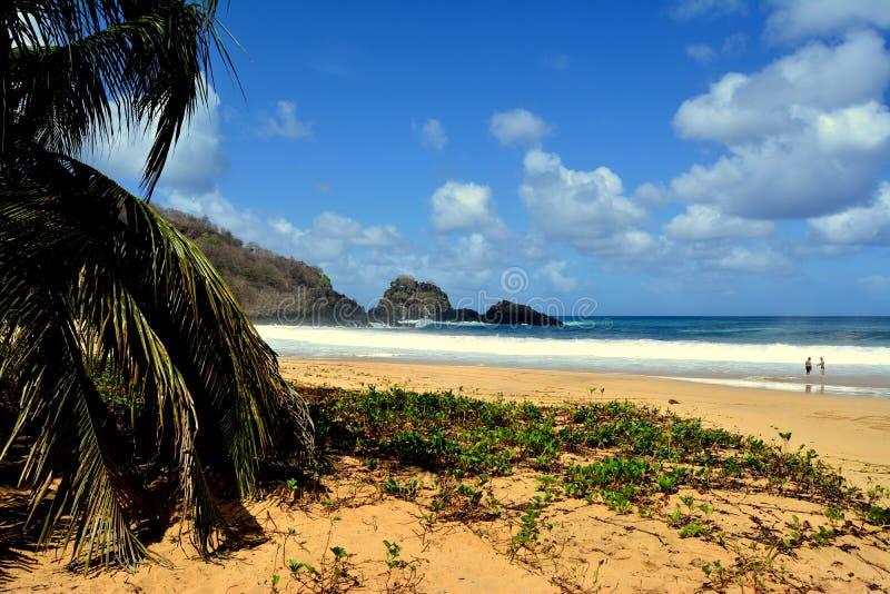 Praia do Sancho - Fernando de Noronha στοκ φωτογραφίες