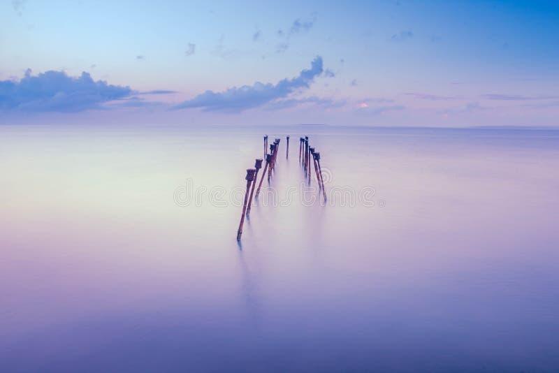 Praia do TEDIS foto de stock