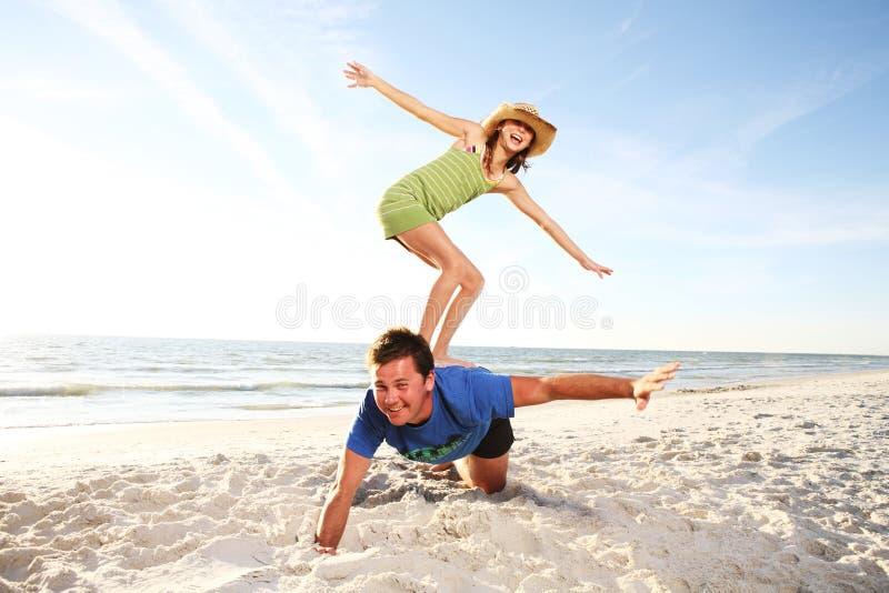 Praia do verão. foto de stock