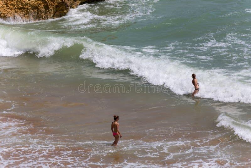 praia dona ana стоковая фотография