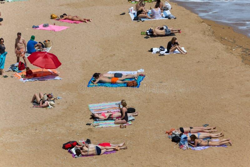 Praia Dona Ana imagem de stock royalty free