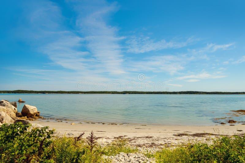 Praia dos campistas (porto de Joli do porto) imagem de stock royalty free