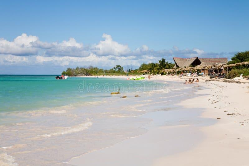 Praia dos jutias de Cayo, Cuba fotos de stock royalty free